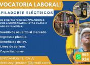 Operario de apilador eléctrico / huachipa