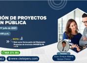 Curso identificaciÓn de proyectos de inversiÓn
