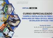 Curso especializado en fibra Óptica 2021 (5ta edic