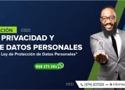 Curso gestiÓn de privacidad y protecciÓn de datos