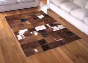 Alfombras de cuero patchwork  cel. 998855075 -
