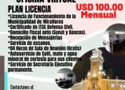 Alquiler de oficina virtual con licencia municipal