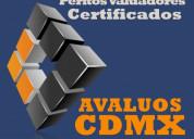 Avalúos cdmx peritos valuadores certificados