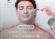 Limpieza facial profunda + vitamina c