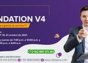 Curso itil 4 foundation 2da ediciÓn 2021
