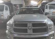 Vendo camioneta dodge ram 2500 2012.