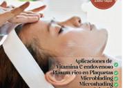 Tratamientos faciales y spa