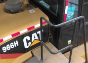 Vendo cargador frontal cat 966h - 2011
