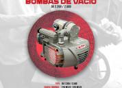 Venta, servicio tecnico de bombas de vacio